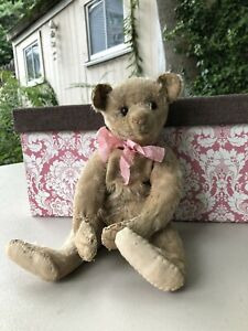 Lily~ Precious Well Loved Antique 12 in. Early Steiff Bear