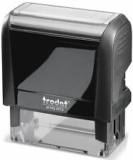Self-Inking, Custom Address Stamp with 4 Lines of type
