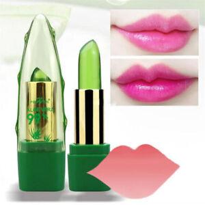 99% ALOE VERA Change Color Jelly Lipstick Long Lasting Moistourizing Lip Makeup
