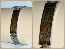 Jay Baxter, Magnet Edelstahlarmband, 316L Edelstahl, Bicolor #NEU#