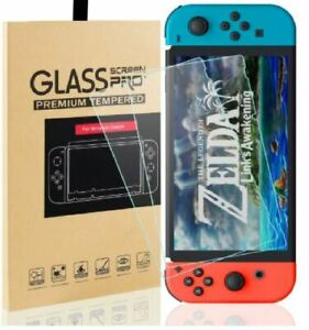 Fits Nintendo Switch Console PREMIUM TEMPERED GLASS 2 Pack Screen Protector Cove
