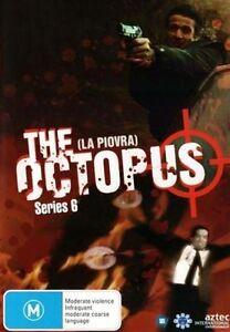 THE OCTOPUS (LA PIOVRA) - SERIES 6 (3 DVD SET) BRAND NEW!!! SEALED!!!