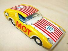 altes Auto MOT Blech Blechspielzeug mit Schwungrad