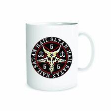 Hail Satan 666 Mug Present Novelty Gift Idea Celebration Devil 10oz