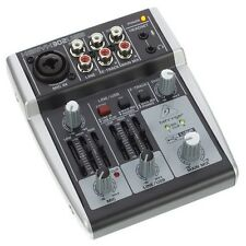 Behringer Xenyx 302 USB Portable Studio Recording Mixer With Audio Interface