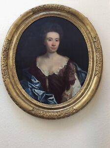 Portrait of Lady Sarah Cowper Circle of Michael Dahl