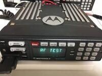 Motorola XTL5000 P25 700 800 Mhz P25 9600bd Digital Radio M20URS9PW1AN R20.50.09