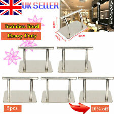 5pcs Stainless Steel Footrest Foot Rest Barber Hair Dressing Salon Polish Chair