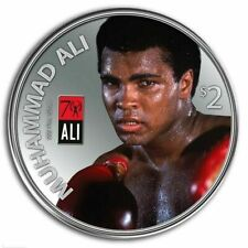 2012 Muhammad Ali 1 oz 999 Silver Proof Coin With Glove Set  LOW MINTAGE 7,500