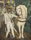 Print - Agrarian Leader Zapata by Diego Rivera