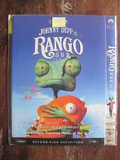 RANGO DVD w/ Cantonese Mandarin English AUDIO multiple SUBS