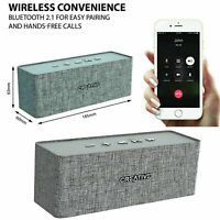 Creative Wireless Speaker Bluetooth Nuno Designer Outdoor For PC Laptop Grey AU