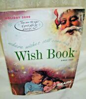 Sears Christmas Catalog Wish Book 2000