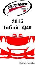 3M Scotchgard Paint Protection Film Clear Pre-Cut Kits Fits 2015 Infiniti Q40