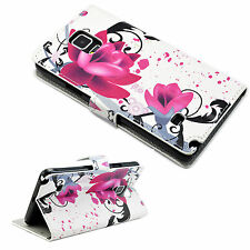 Stylish Leather Pocket Phone Wallet Case Cover For Samsung Galaxy Note 4 IV
