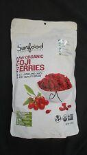 Sunfood Super Foods Raw Organic Goji Berries 1 lb Gluten-Free Vegan Kosher