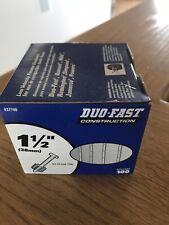 """100 Duo-Fast 1512 1-1/2"""" Powder Masonry Drive Pins Nail for Hilti Ramset"""