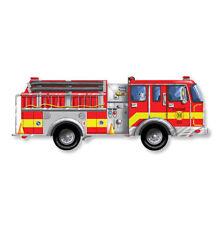 Melissa & Doug Bodenpuzzle Feuerwehrauto Feuerwehr Puzzle 24 Teile Spielzeug