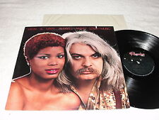 "Leon & Mary Russell ""Make Love To The Music"" 1977 Rock LP, Nice VG++!, Paradise"