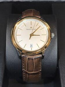 MAURICE LACROIX Les Classiques Swiss Men's Gold Quartz Watch LC1117PVY 3ATM 38mm