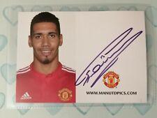 Chris Smalling Manchester United (Man Utd) Signed Club Card