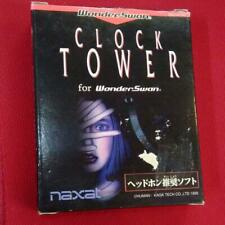 Clock Tower Wonderswan WS Japan Nexat Used Portable Rare Free Shipping