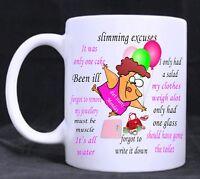 Bowls Excuses Funny Novelty Mug