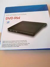 Externes DVD Laufwerk USB 3.0/2.0 Brenner Slim CD DVD-RW Brenner für PC Laptop