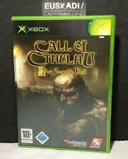 Call of Cthulhu: Dark Corners of the Earth // XBOX - PAL NOE // Completo