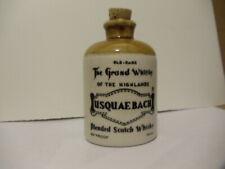 Vintage Whisky Usquaebach Miniature 50ml - cork jug