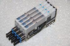 FESTO Ventilinsel VMPA1-MPM-EMM-4 / VMPA-FB-AP-4-1 / 4 Stück VMPA1-M1H-M-PI