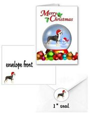 30 Greater Swiss Mountain Dog Swissie Christmas cards 90 pieces snow globe