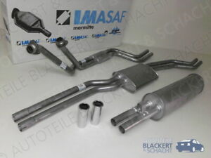 IMASAF Auspuffanlage komplett für Mercedes S-Klasse W116 280 S+SE+SEL 1972-1976