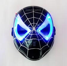 Venom LED Light up Mask Halloween Cosplay Darkness Spiderman Costume Mask