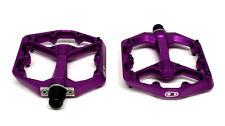 Crank Brothers STAMP 7 Platform Mountain Bike Pedals, Small, Purple