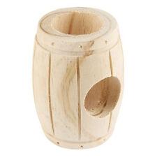 Wooden Hamster Barrel