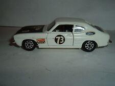 Corgi Toys Ford Capri 3 Litros Gt rallye Car Original Vintage Ver el picturers