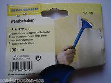 Wandschaber Tapetenschaber Tapetenkratzer Farbschaber Schaber NEU 10 cm Klinge
