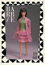 """Barbie Collectible Fashion Trading Card """" Scene-Stealers """" Party Ensemble 1968"""