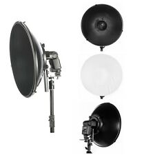 Beauty Dish Diffuser for Canon EOS G11 G9 G2 Flash 600EX 430EX 580EX II 430EX