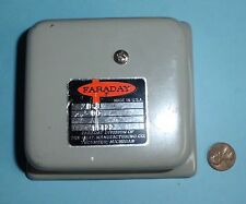 New listing Vintage Faraday Cat. 11122 Relay Module 6-8 Vdc Made in Usa