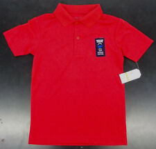 Boys Nautica $24 Uniform/Casual Red Wicking Polo Shirt Size 14/16