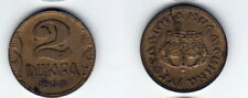 2 Dinara 1938 Jugoslawien - extrem seltene Original Münze - B63