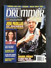 Modern Drummer Magazine February 2002 Jose Pasillas of Incubus