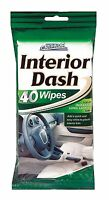 Interior Clean & Shine Wipes - 40 Wipes by Car Pride