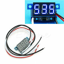 New Mini DC 4-30V LED 0-999mA Digital Panel Ammeter Amp Ampere Meter with Wire