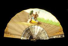 """""""el Quitasol"""" de Francisco de Goya Eventail espagnol El Corte Ingles Fan Abanico"""