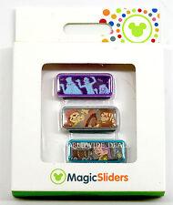 Disney Magic Band Magic Sliders Magic Kingdom Haunted Mansion, Pirates 7 Dwarves
