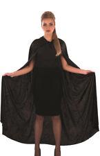 ADULTS BLACK SHIMMERING SHAWL CAPE HALLOWEEN ACCESSORY UNISEX FANCY DRESS