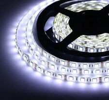 Waterproof 5M Cool White 5050 SMD 300 LED Strip light flexible 60led/m 12V Xmas